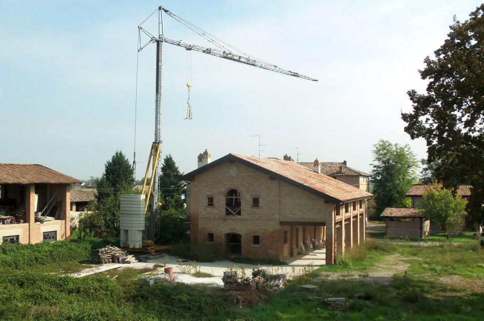 Ristrutturazione conservativo di edificio rurale